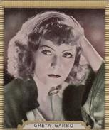 """CIGARETTES """"HAUS BERGMANN"""" -  PHOTOS ACTEURS CINEMA N° 26 -  GRETA GARBO - Objets Publicitaires"""