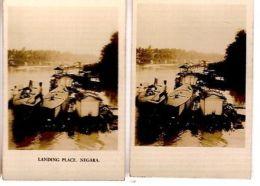 BORNEO - NEGARA LENDING PLACE - CAVANDERS CIGARETTES PEEPS INTO MANY LANDS 1920s - Foto
