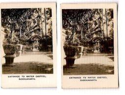 JOGJAKARTA  - WATER CASTEEL - CAVANDERS CIGARETTES PEEPS INTO MANY LANDS 1920s - Foto