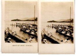 SUMATRA - LAKE TOBA - CAVANDERS CIGARETTES PEEPS INTO MANY LANDS 1920s - Foto
