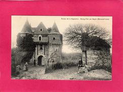 49 MAINE ET LOIRE, BOURG-D'IRE, Château De La Bigeotière, Animée, (Gaumer) - Autres Communes
