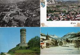 4 CP - CLAIX (Vue Panoramique) PONTCHARRA (Vue Aérienne) GRESSE EN VERCORS (Le Chomeil) La Tour D' AVALLO    (93055) - Autres Communes