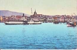 VAPEUR(S) SUR LE LAC LEMAN - LE (LEMAN) A GENEVE  - N/C - VD Vaud