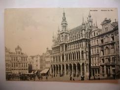 Carte Postale Belgique Bruxelles - Maison Du Roi  (Petit Format Non Circulée ) - Monumenten, Gebouwen