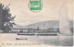 VAPEUR(S) SUR LE LAC LEMAN - LE BONIVARD A GENEVE - 14.08.1909 - VD Vaud
