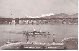 VAPEUR(S) SUR LE LAC LEMAN - LA MOUETTE A GENEVE - 22.07.1915 - VD Vaud