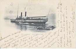 VAPEUR(S) SUR LE LAC LEMAN - LE WINKELRIED - DOS UNIQUE - 20.08.1901 - VD Vaud