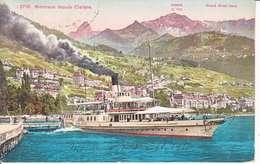 VAPEUR(S) SUR LE LAC LEMAN - LE GENERAL DUFOUR A CLARENS - 11.10.1911 - VD Vaud