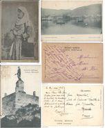 Lot De 3 CPA Grèce Greece Costume Grec Corynthienne, Argostoli, Meitland, Itéa Le Port. Courriers L'armée D' Orient WW1 - Grèce