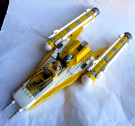 LEGO STAR WARS Vaisseau Jaune REBEL ? Loose - Figures
