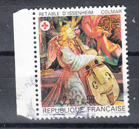 Francia   -   1985. Pro Croce Rossa. Angelo Con Contrabbasso. Pro Red Cross. Angel With Double Bass. - Musica