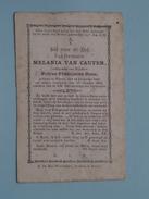 DP Melania VAN CAUTER ( Petrus RENS ) Ninove 14 Dec 1926 - 19 Oct 1883 ( Zie Foto´s ) !