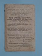 DP Maria-Catharina SOETEWEY ( ) Wesembeek 12 April 1808 - 17 Dec 1883 ( Zie Foto´s ) !