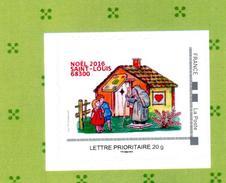 Timbre à Moi Noel Saint Louis 2016 Theme Conte Grimm - France
