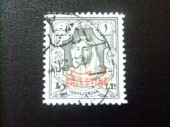 Palestina Ocupacion Transjordania 1948  Roi Abdullah Yvert Nº PA 16 º FU - Palestina