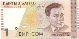 Kyrgyzstan - 1 Som 1999 UNC - Kirguistán
