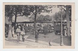 93 - NEUILLY PLAISANCE / LA PLACE DU MARCHE - Neuilly Plaisance