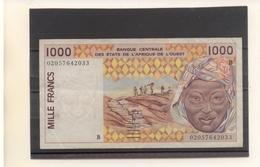 BENIN - Billet De 1000 Francs - Bénin