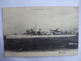 """19112016 -  BATEAUX  -  LE CONTRE TORPILLEUR """"BALISTE"""" - Krieg"""