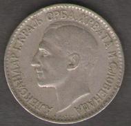JUGOSLAVIA 1 DINAR 1925 - Jugoslavia