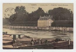 91 - CORBEIL / CASTEL JOLI - PROPRIETE VALDECK ROUSSEAU - Corbeil Essonnes