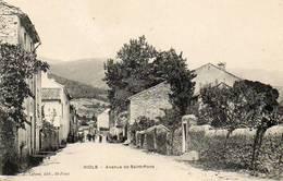 CPA - RIOLS (34) - Aspect De L'Avenue De St-Pons Au Début Du Siècle - Francia