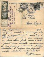 REGNO-Cartolina Postale 15c LLOYD ITALICO OCEANUS-Milano 13.12.1920 - Italia
