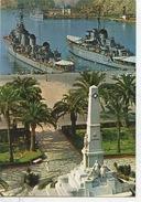Cartagene : Le Port Les Bateaux Et Le Monument (n°112 Vierge) - Warships