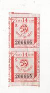 Alt966 Bangkok Thailand Thailandia Biglietto Singolo Single Ticket Billet Bateau Taxi Boat Battello Chao Phraya - Tiquetes De Barcos