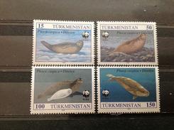 Turkmenistan - Postfris / MNH - Complete Set WWF, Zeehonden 1993 - Turkmenistan