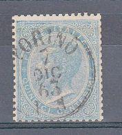 REGNO - 1863 - DE LA RUE - 15 Cent(18) - Torino 7.12 - Italia