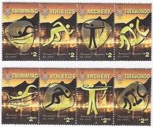 Tonga 2016, Olympic Games In Rio, Swimming, Running, Archery, Taekwondo, 8val