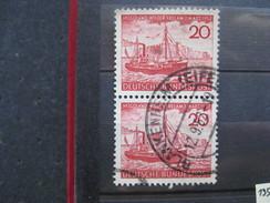 Timbre Allemagne : N° 37  HELGOLAND WIEDER FREI AM 1 Mars 1952 - Gebraucht