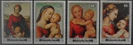 Penrhyn 1983 Christmas ** MNH Yvert 270/73 Raphael