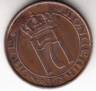 NORUEGA 1936  5 ÖRE.REY HAAKON VII.COBRE    EBC CN4280 - Noruega