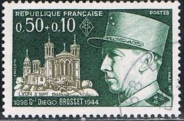 FRANCE : N° 1668 Oblitéré (Personnages Célèbres : Général Diego Brosset) - PRIX FIXE - - France