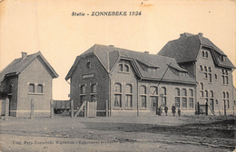 Zonnebeke Ieper    Station Statie  1924                 A 3747 - Zonnebeke