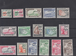 ZANZIBAR - 1964 - TIMBRE N°262/277** - Zanzibar (1963-1968)