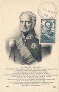 D27986 CARTE MAXIMUM CARD 1944 FRANCE - MARECHAL BUGEAUD CP ORIGINAL - Celebrità