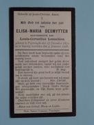 DP Elisa-Maria DESMYTTER ( Lemahieu ) Poperinghe 17 Dec 1870 - 4 Januari 1928 ( Zie Foto´s ) !