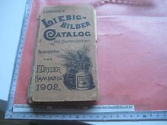 19 Old Catalogues Price Lists Compagnie Liebig - Katalogen - 1900 à 2000, DRESER 1902 1903, Tourteau, Sanguinetti - Albums & Catalogues