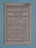 DP Marie Angélique VERSTRAETEN () Renaix 13 Avr 1872 - 11 Fev 1899 ( Geplooid & Scheurtje / Zie Foto´s ) !
