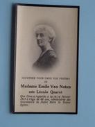 DP Emile Van NOTEN ( Léonie Quarré) 14 Fev 1917 à L'age De 66 Ans ( Zie Foto´s ) !