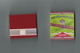 ANCIEN PAQUET DE 12 CIGARETTES ATIKAH CIGARETTEN Pour La Collection - Zigarettenetuis (leer)