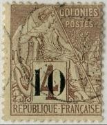 !!! SENEGAL : N°3 TYPE I OBLITERATION LEGERE, CENTRAGE MOYEN. SIGNE - Senegal (1887-1944)