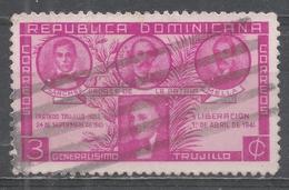 Dominican Republic 1941. Scott #369 (U) Sanchez, Duarte, Mella And Trujillo * - Dominicaine (République)