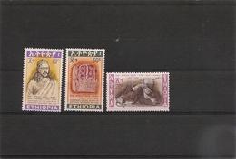 ETHIOPIE Année 1968 N° Y/T: 502/04** - Ethiopie