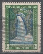 Dominican Republic 1947. Scott #422 (U) Watherfall Of Jimenoa * - Dominicaine (République)