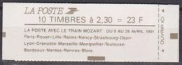 France Carnet Moderne N°2614-C11 Confectionneuse N°9-3 NEUF ** LUXE - Usage Courant