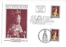 16030 - Christkindl Cover 25.11.1977 Madona Mit Kind Salzburgisch - Noël
